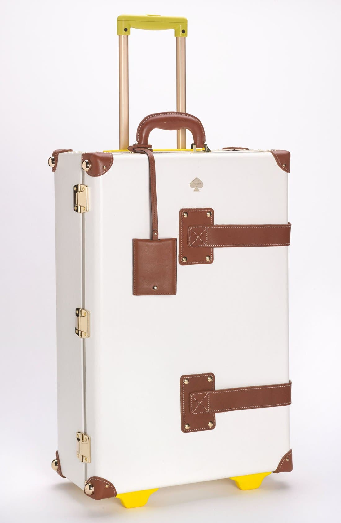 Main Image - kate spade new york 'new yorker - stowaway' wheeled suitcase