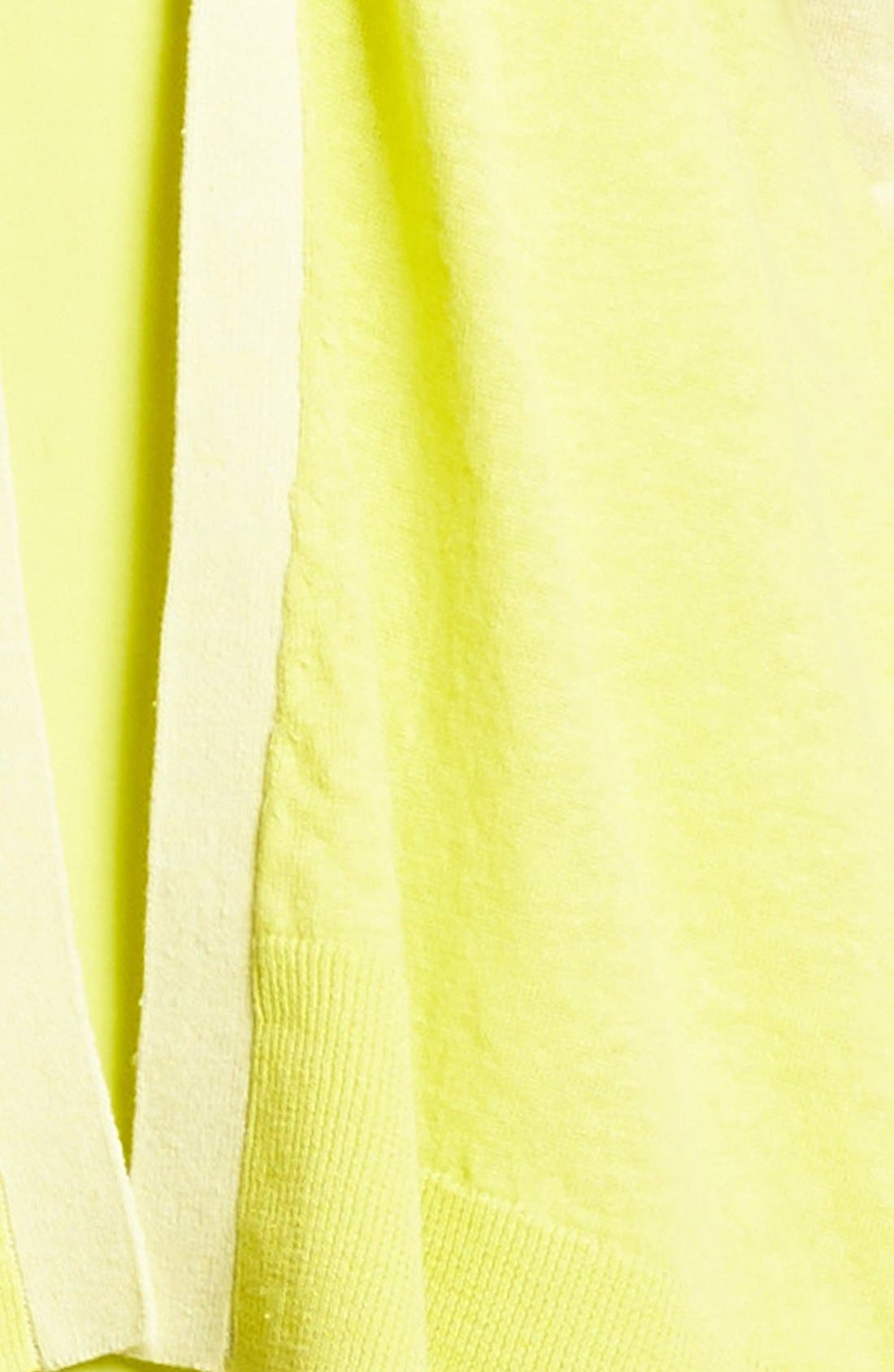 Alternate Image 3  - Amber Sun Colorblock Linen & Cotton Cardigan