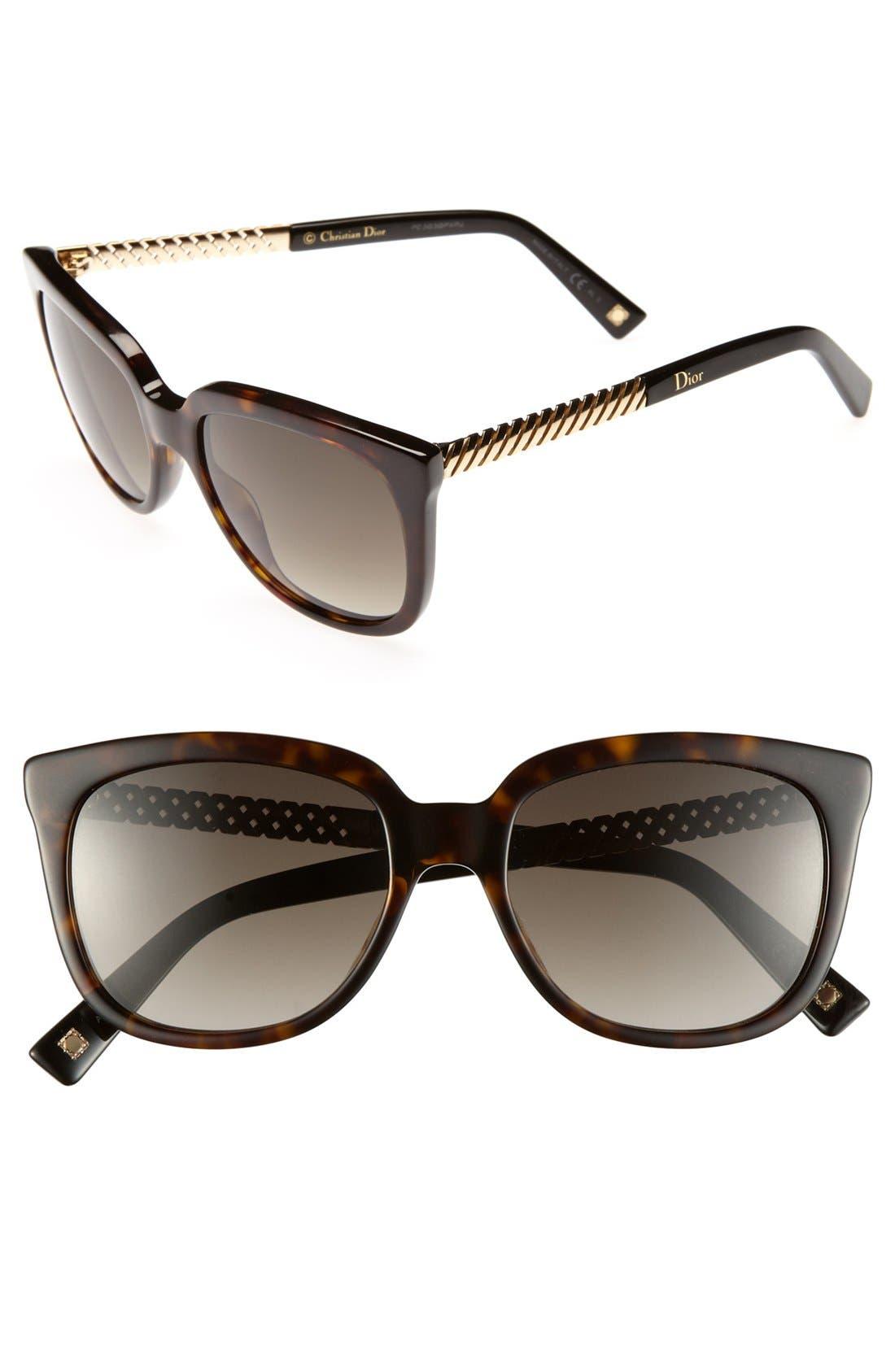 Main Image - Dior 'Ever 2' 53mm Sunglasses