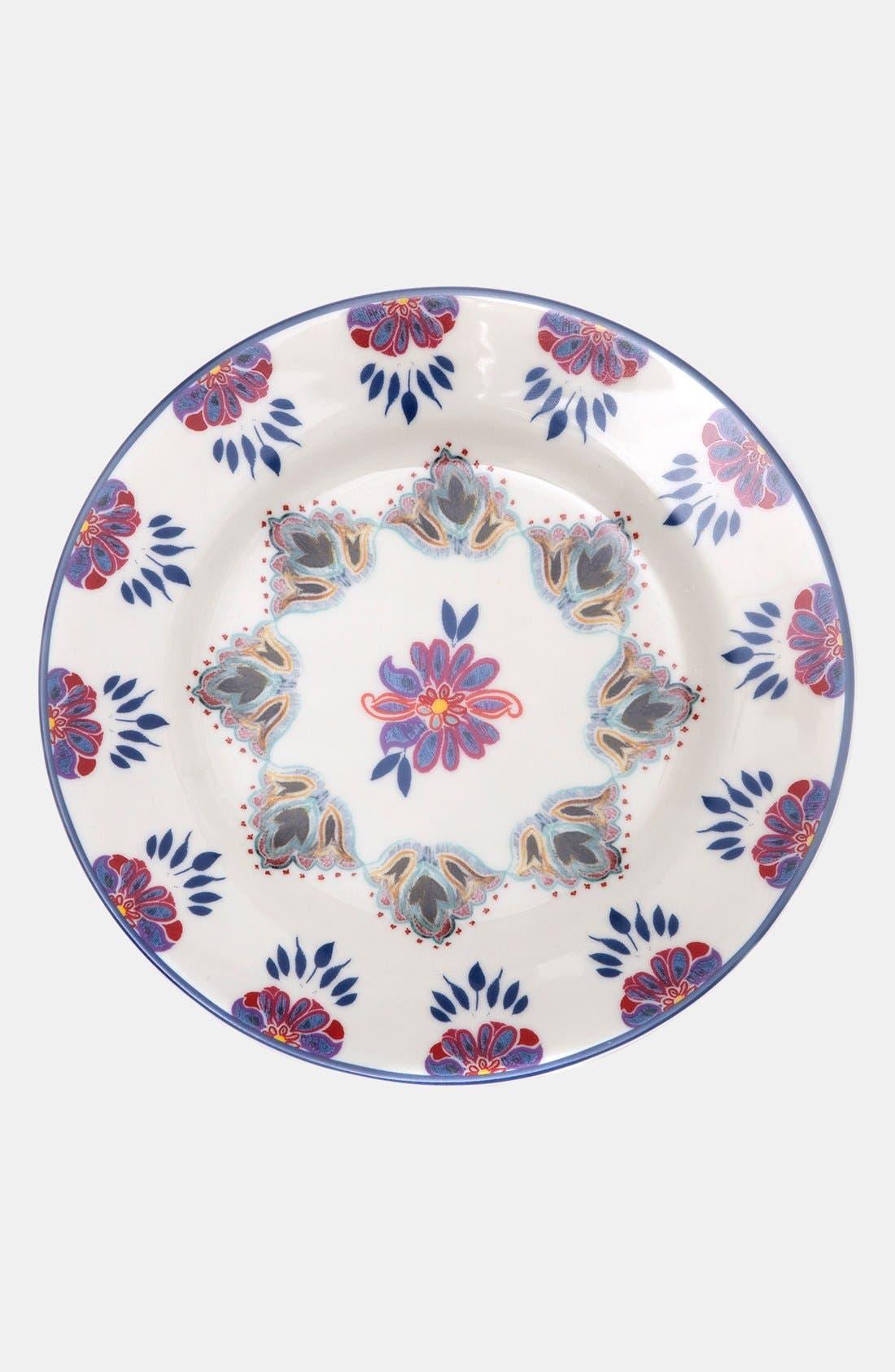 Alternate Image 2  - Porcelain Salad Plates (Set of 4)