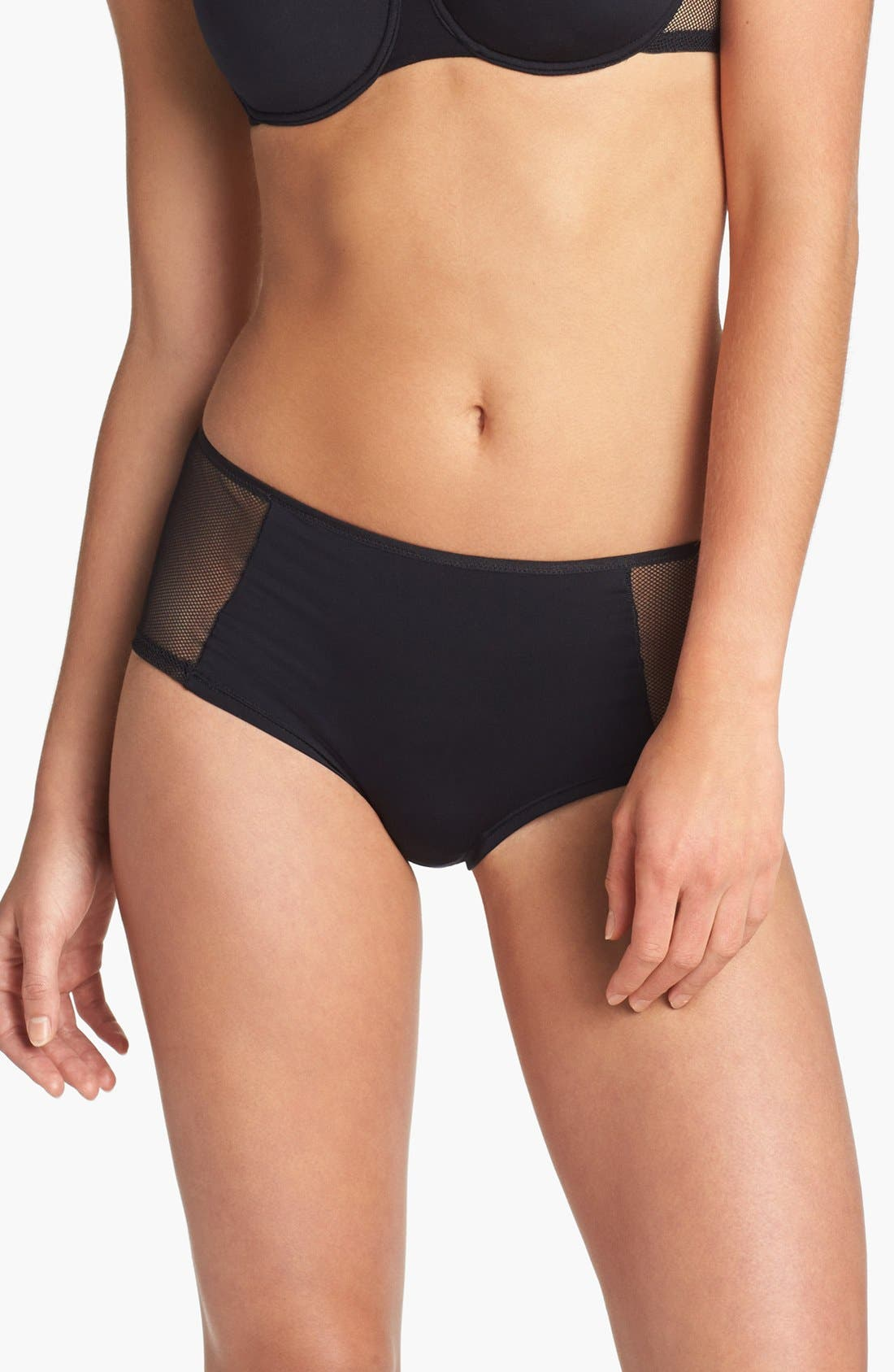 Alternate Image 1 Selected - Cosabella 'Queen of Spades' Hot Pant Briefs