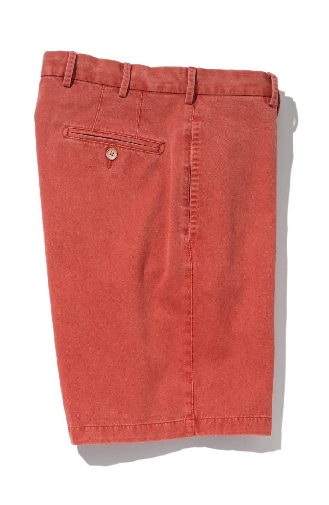 Alternate Image 5  - Peter Millar Washed Twill Shorts