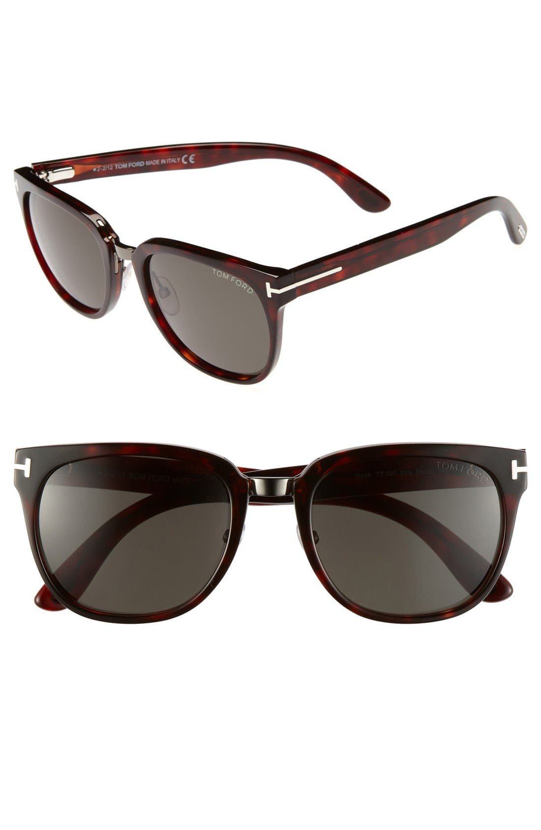 Alternate Image 1 Selected - Tom Ford 'Rock' 55mm Sunglasses