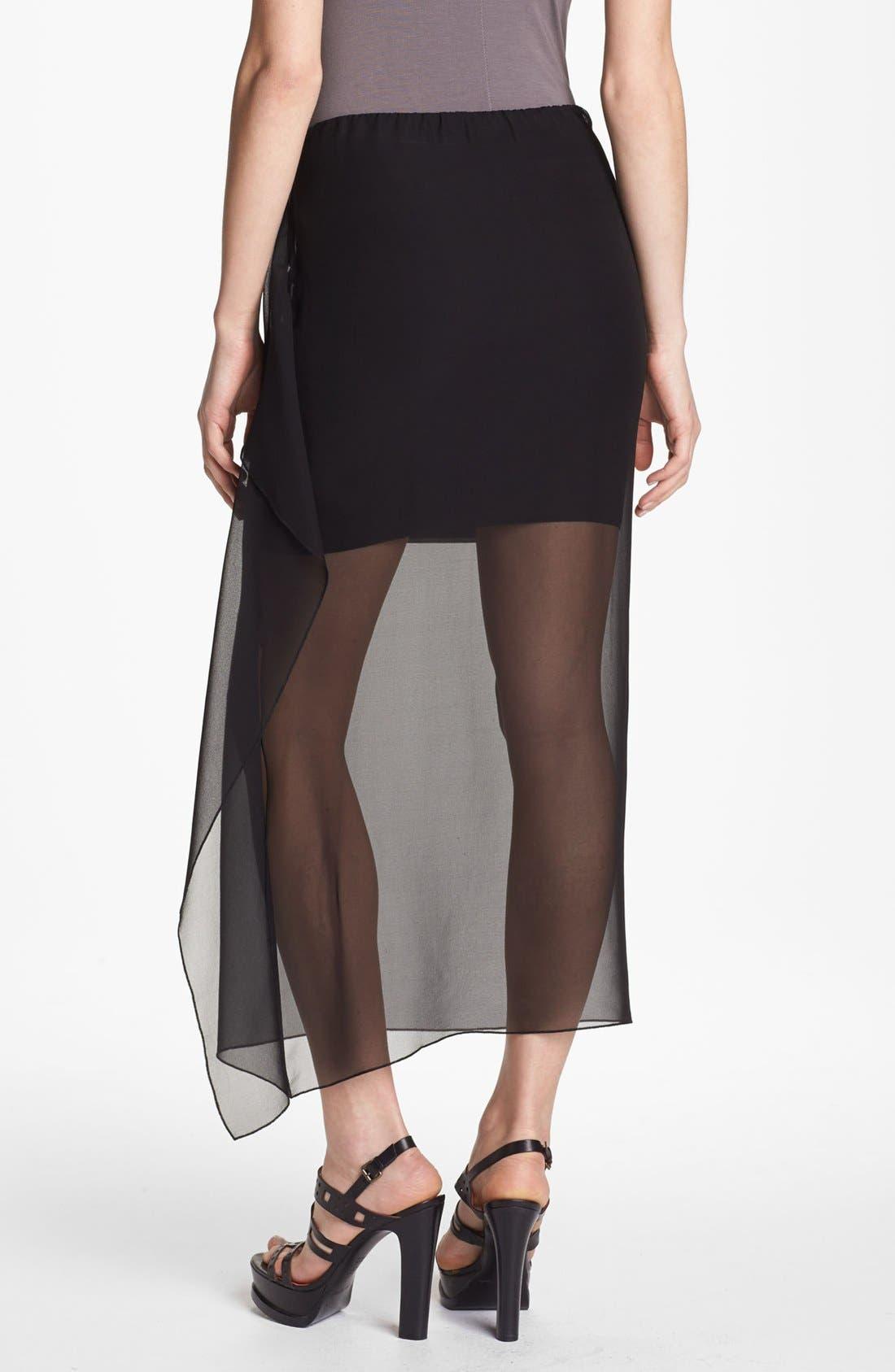Alternate Image 2  - Bailey 44 'Sea Grass' Sheer Overlay Skirt