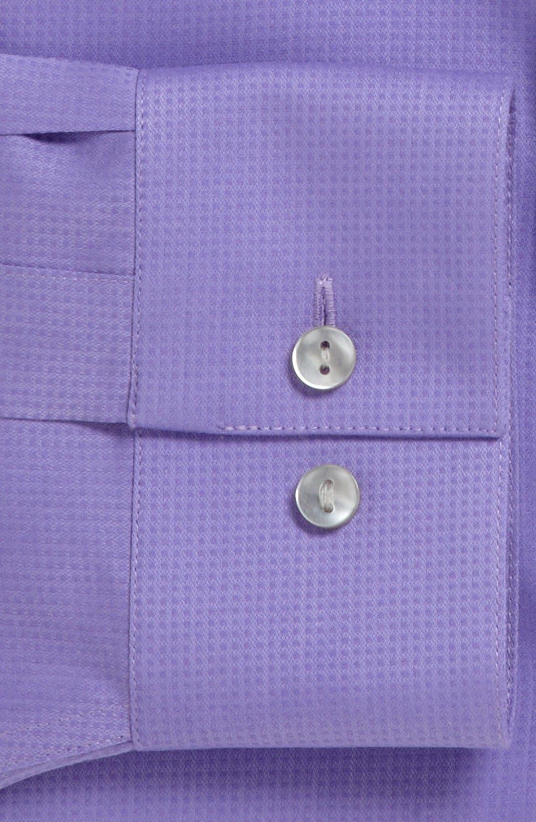 Alternate Image 2  - Calvin Klein 'Miami Check' Slim Fit Non-Iron Dress Shirt