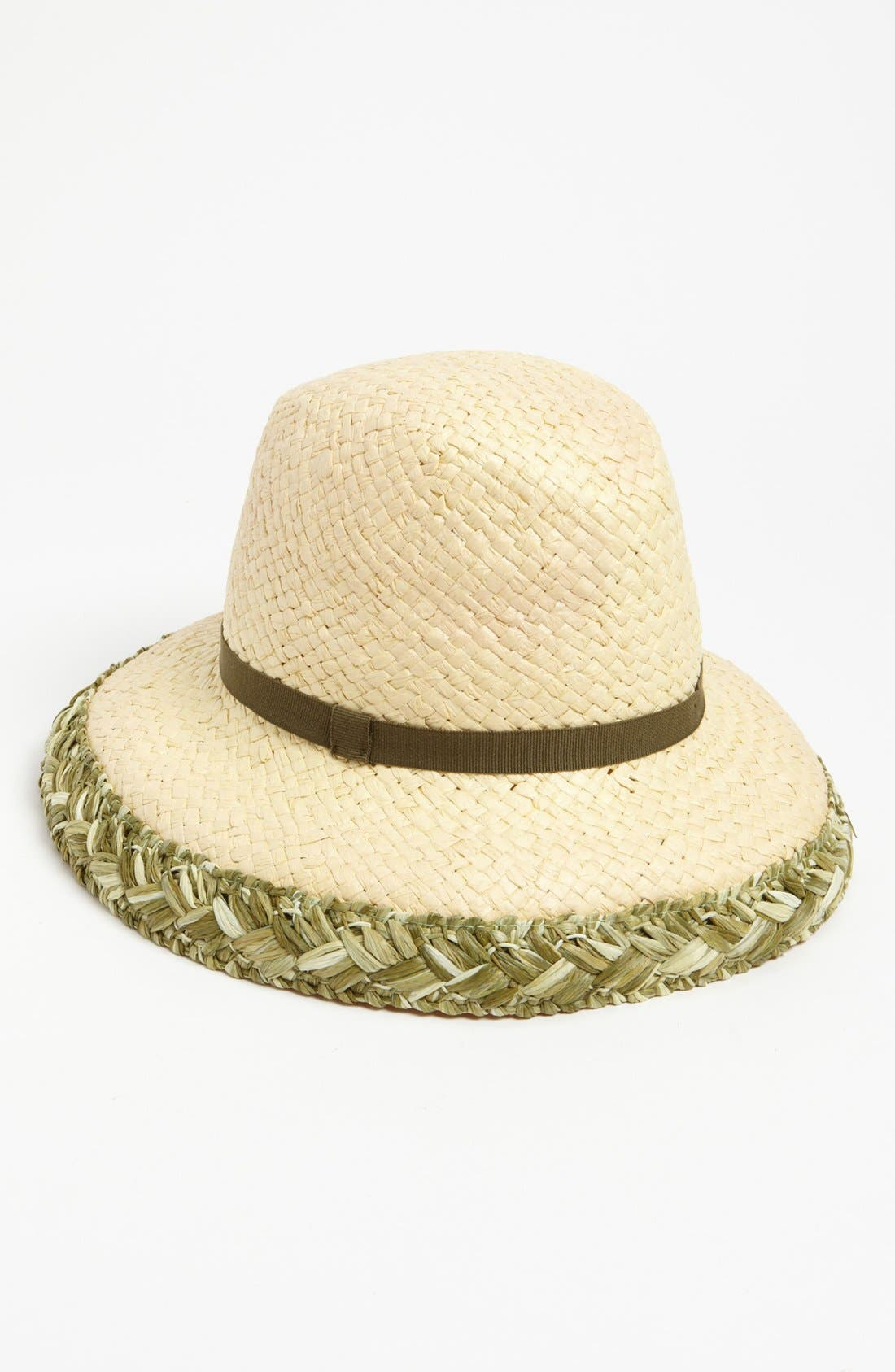 Alternate Image 1 Selected - Nordstrom Braided Trim Fedora