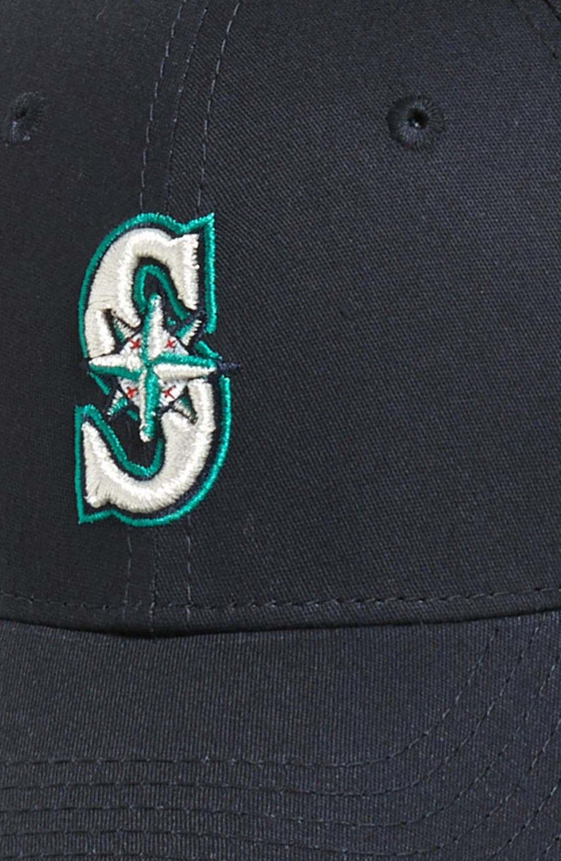 Alternate Image 3  - New Era Cap 'Seattle Mariners - Tie Breaker' Baseball Cap (Big Boys)