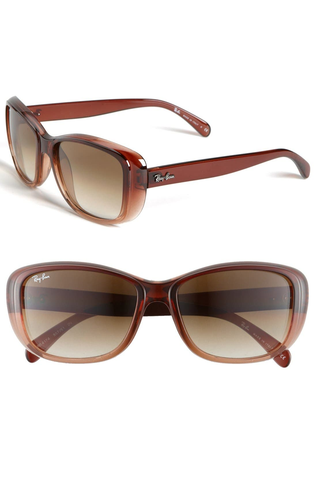Alternate Image 1 Selected - Ray-Ban 'Classic' 56mm Sunglasses