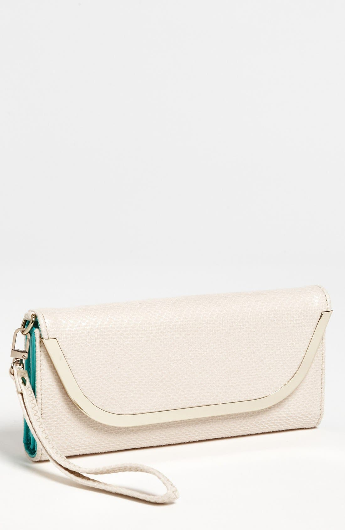 Alternate Image 1 Selected - Izzy & Ali 'Jet Setter' Faux Leather Clutch Wallet