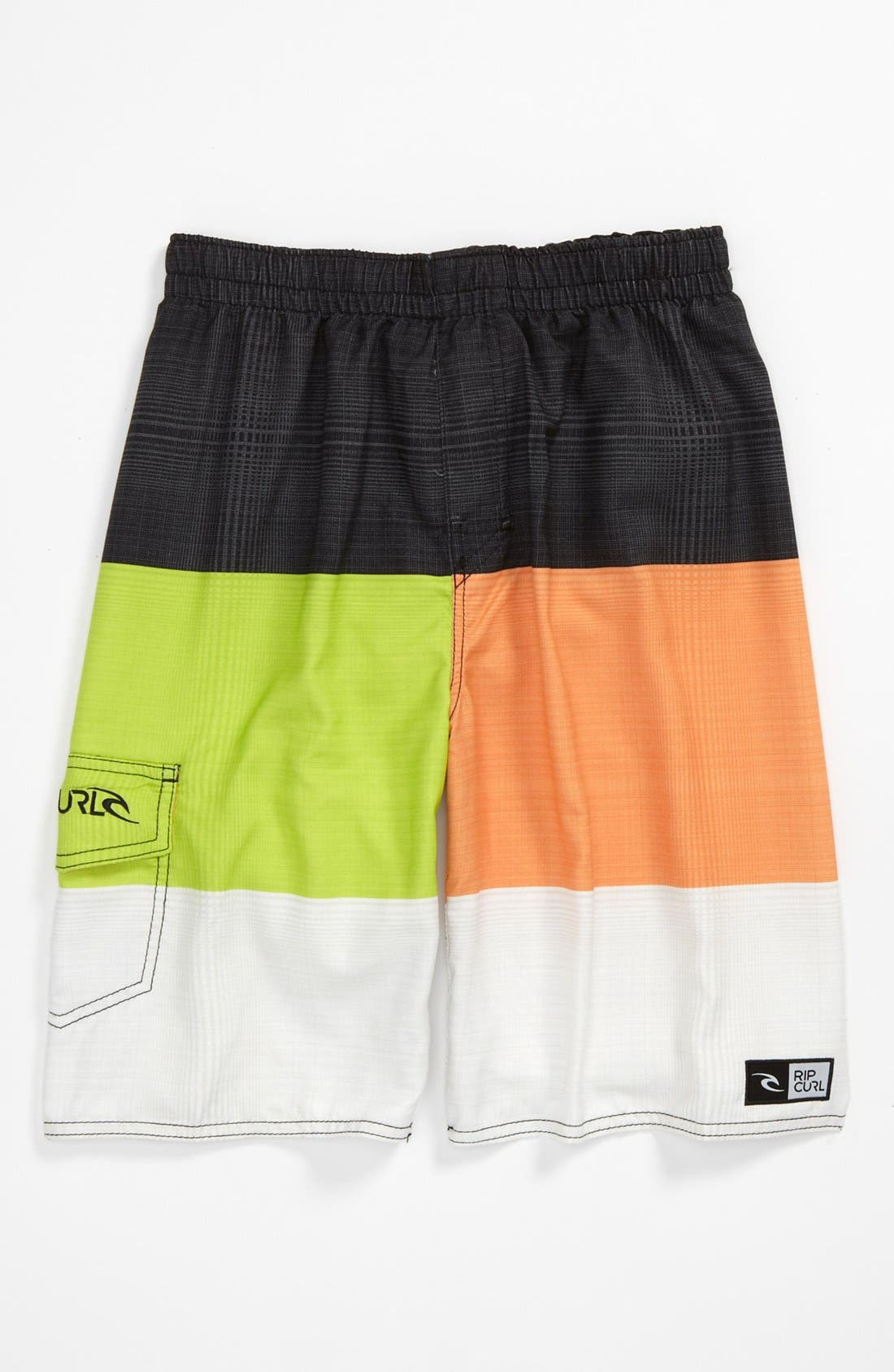 Alternate Image 1 Selected - Rip Curl 'Aggrosections' Volley Swim Trunks (Big Boys)