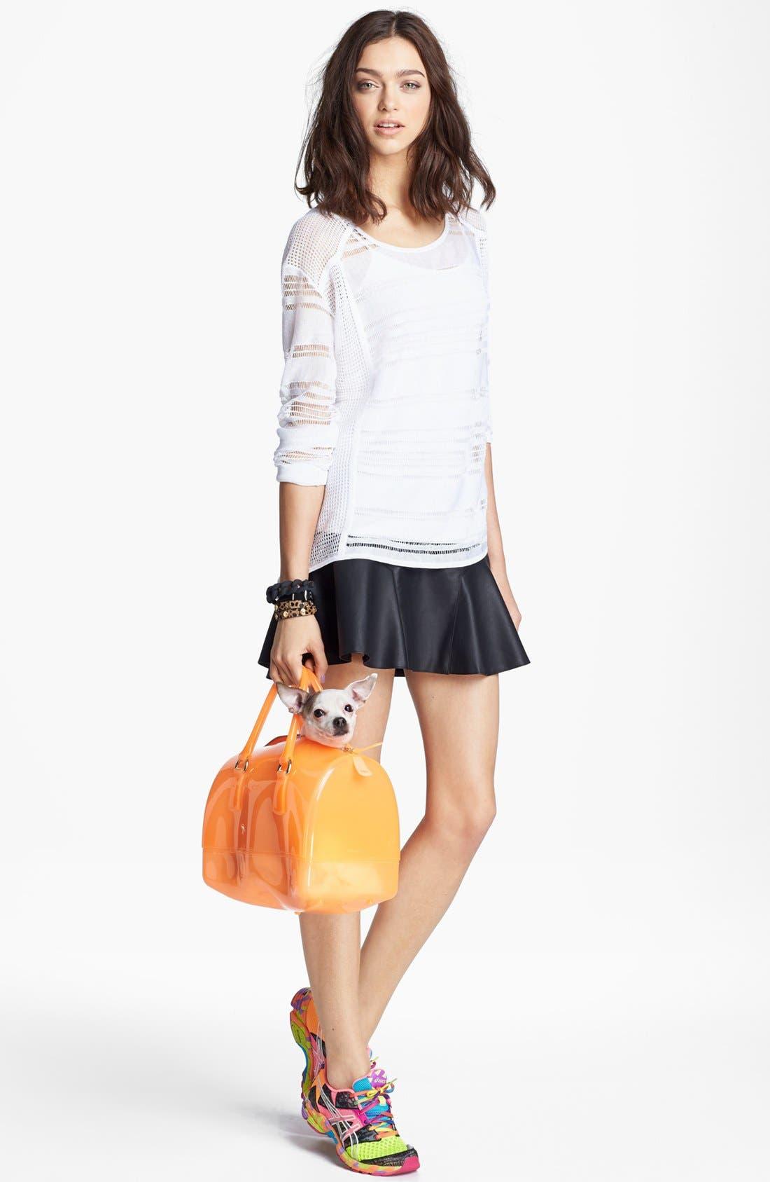 Alternate Image 2  - Trouvé Multi Stitch Linen Sweater
