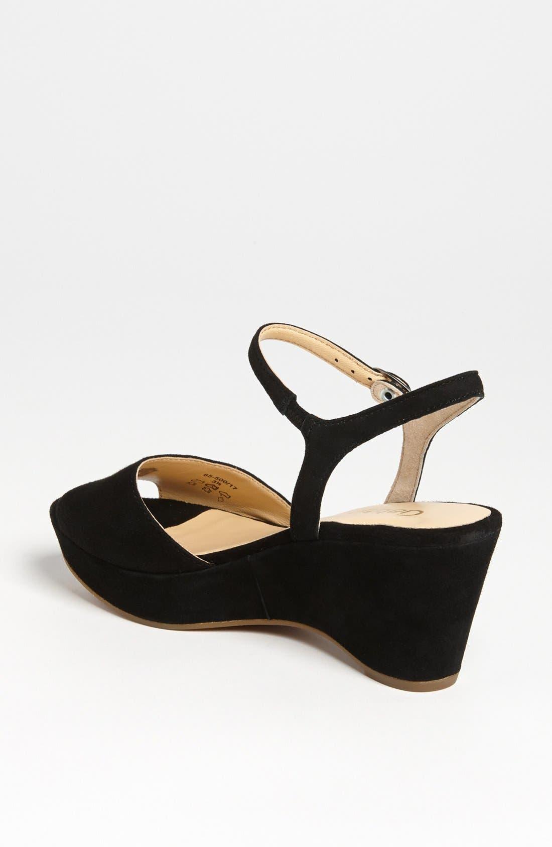 Alternate Image 2  - Gabor Wedge Sandal (Online Only)