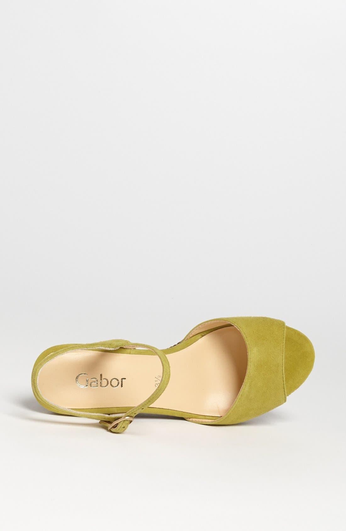 Alternate Image 3  - Gabor Wedge Sandal (Online Only)