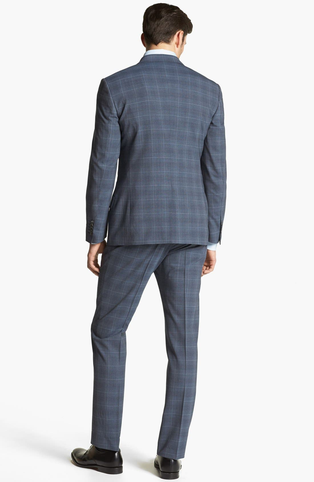 Alternate Image 3  - Paul Smith London Wool Plaid Suit