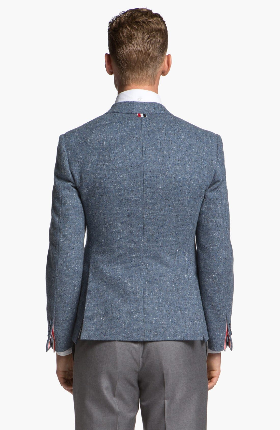 Alternate Image 2  - Thom Browne Three Button Wool Sportcoat
