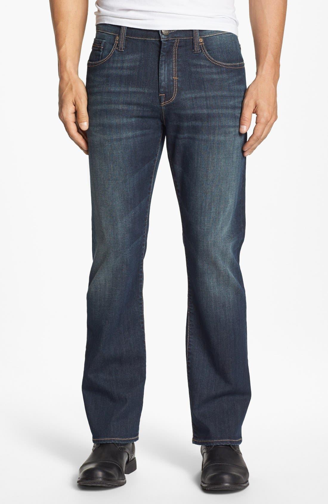 Alternate Image 2  - Mavi Jeans 'Matt' Relaxed Jeans (Dark Bilboa)
