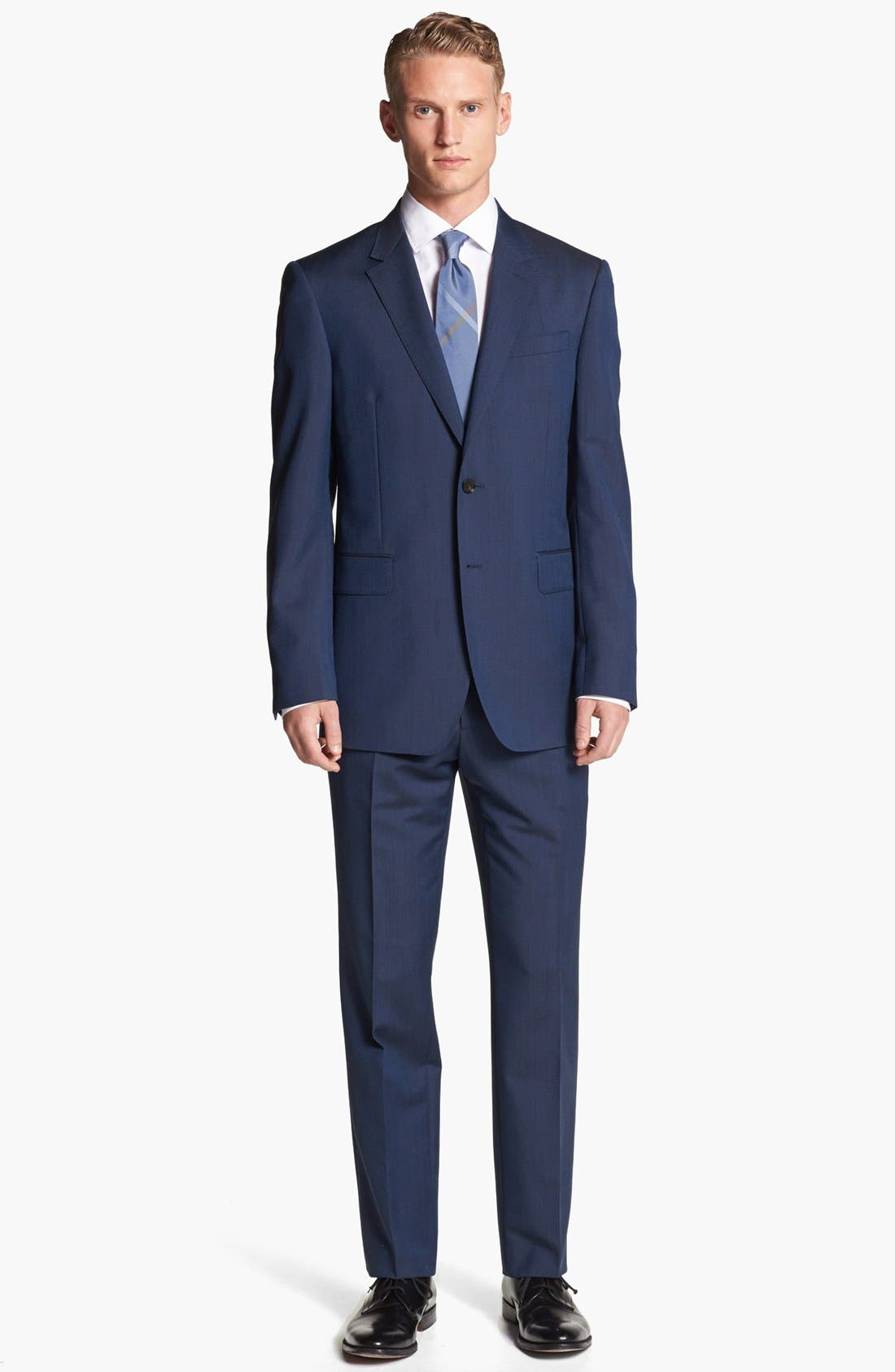 Alternate Image 1 Selected - Burberry London Wool & Mohair Suit