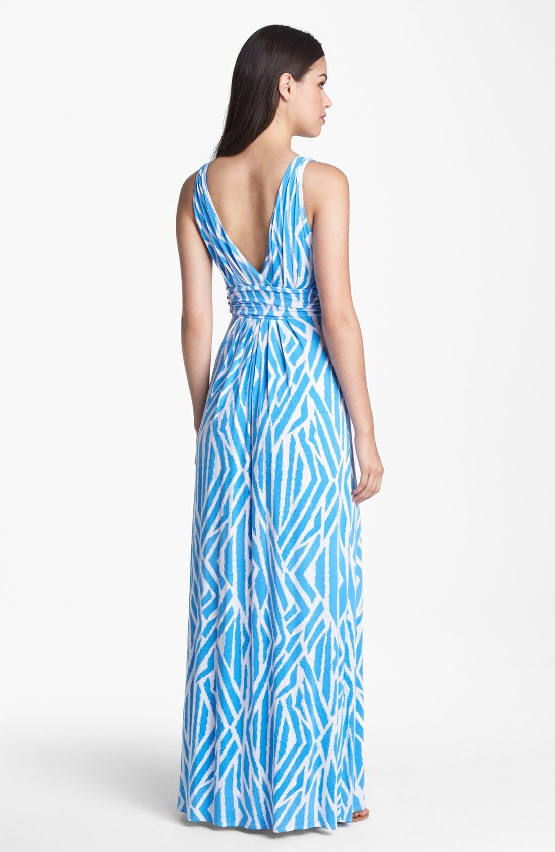 Alternate Image 2  - Tart Sleeveless Jersey Maxi Dress