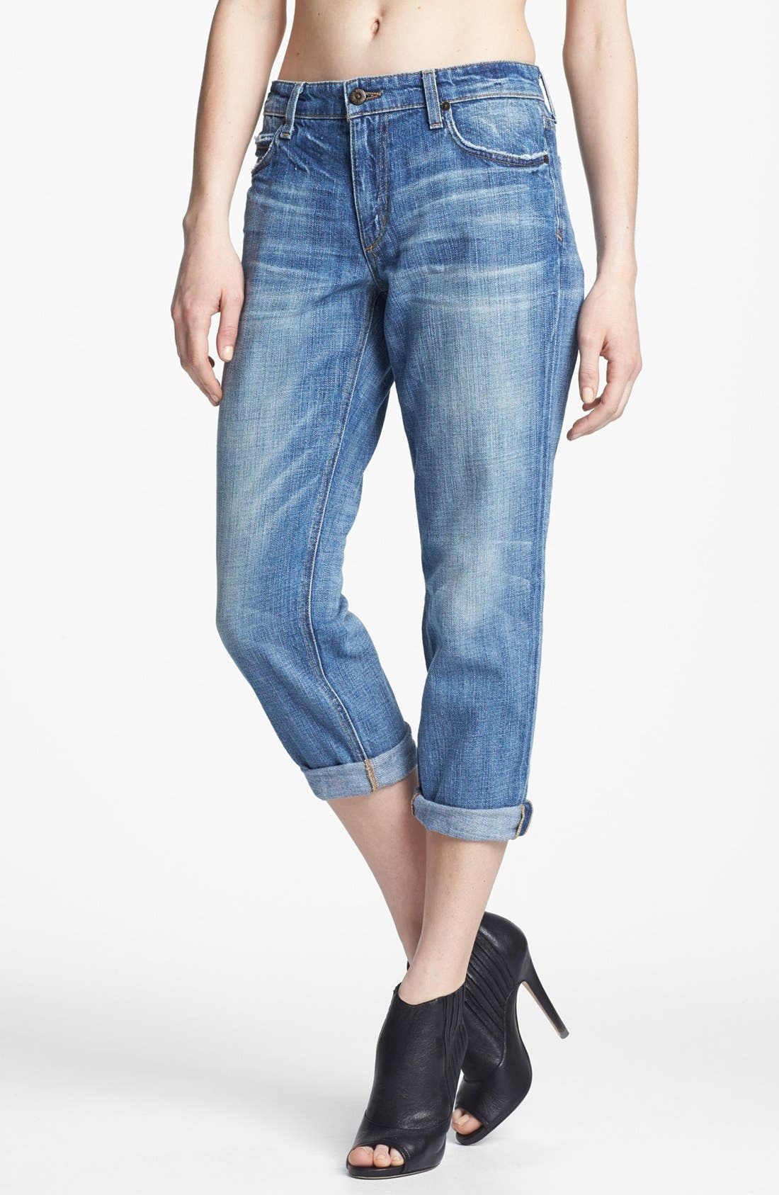 Alternate Image 1 Selected - Joe's 'Easy Crop' Jeans (Mylenne)