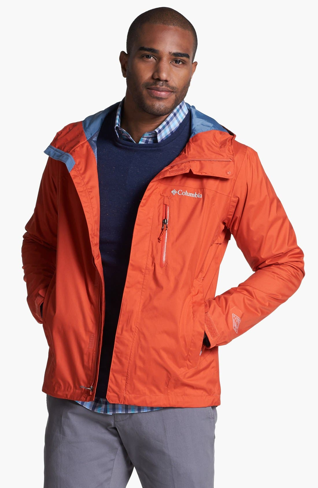 Alternate Image 1 Selected - Columbia 'Hail Tech™' Rain Jacket (Online Only)