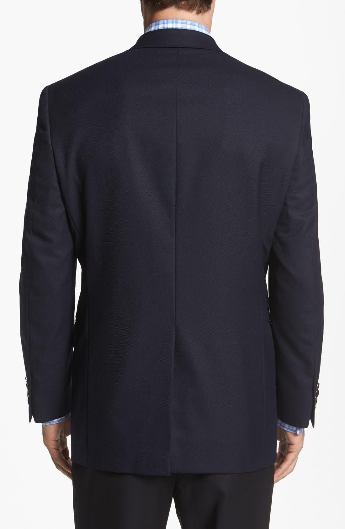 Alternate Image 3  - Hart Schaffner Marx Navy Wool Blazer