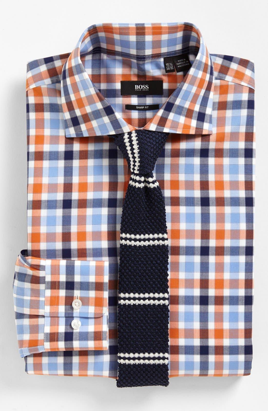 Alternate Image 3  - BOSS HUGO BOSS Sharp Fit Dress Shirt