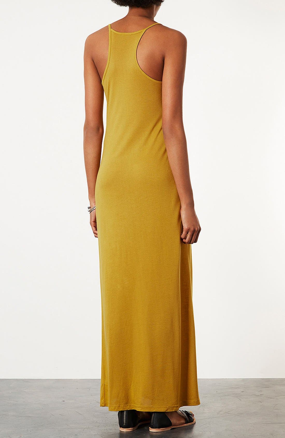 Alternate Image 2  - Topshop Cami Strap Maxi Dress