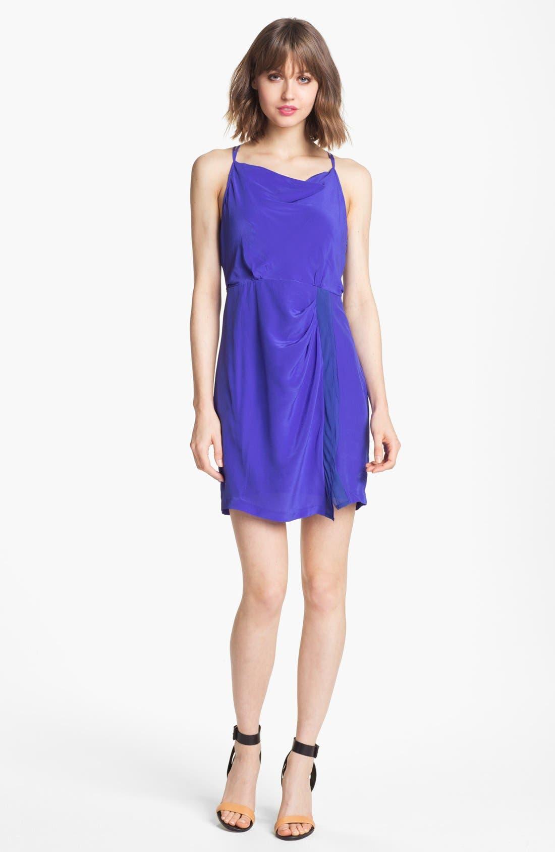 Main Image - Greylin 'Dahlia' Silk Dress