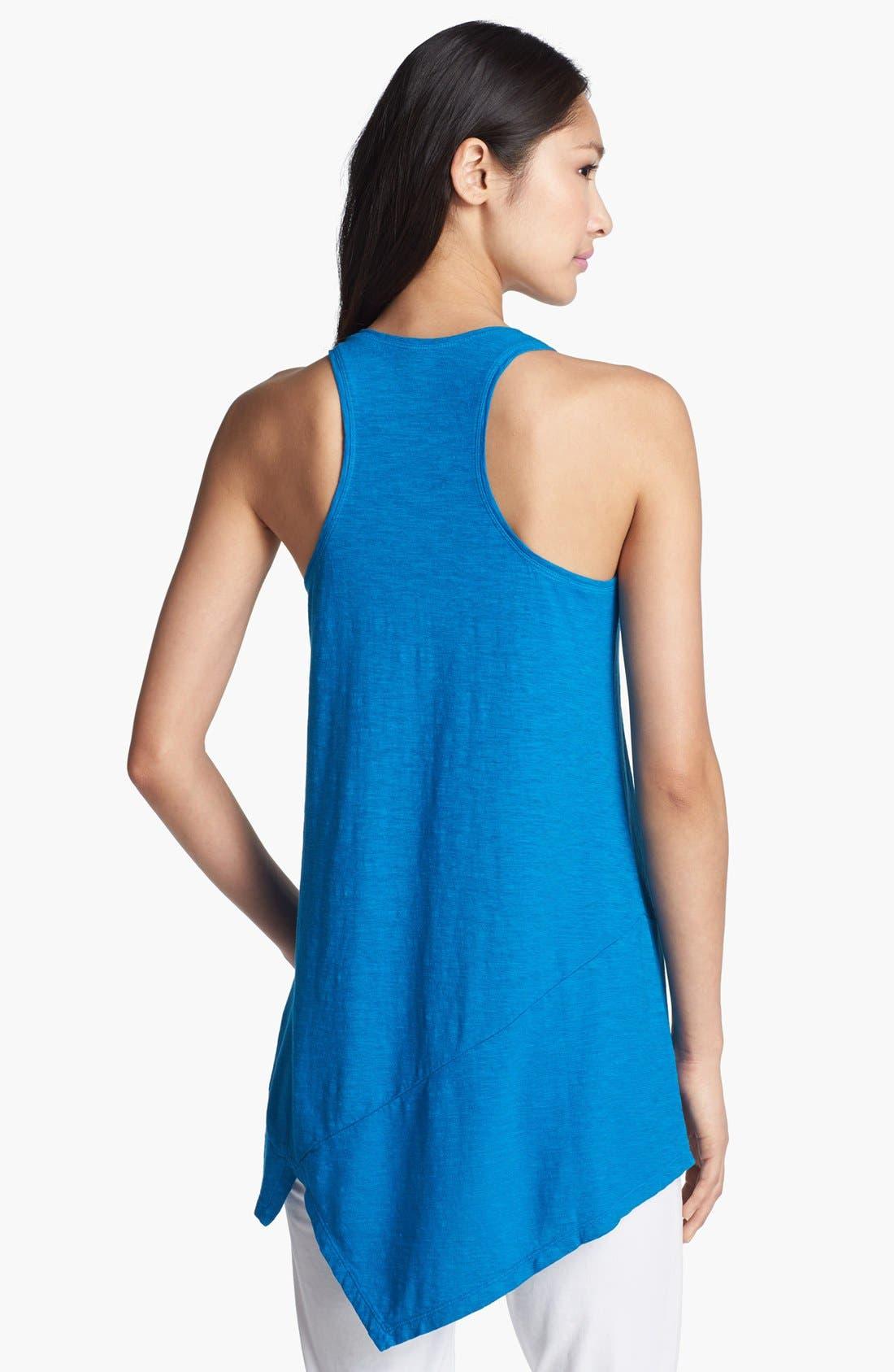 Alternate Image 2  - Eileen Fisher U-Neck Hemp & Organic Cotton Tunic