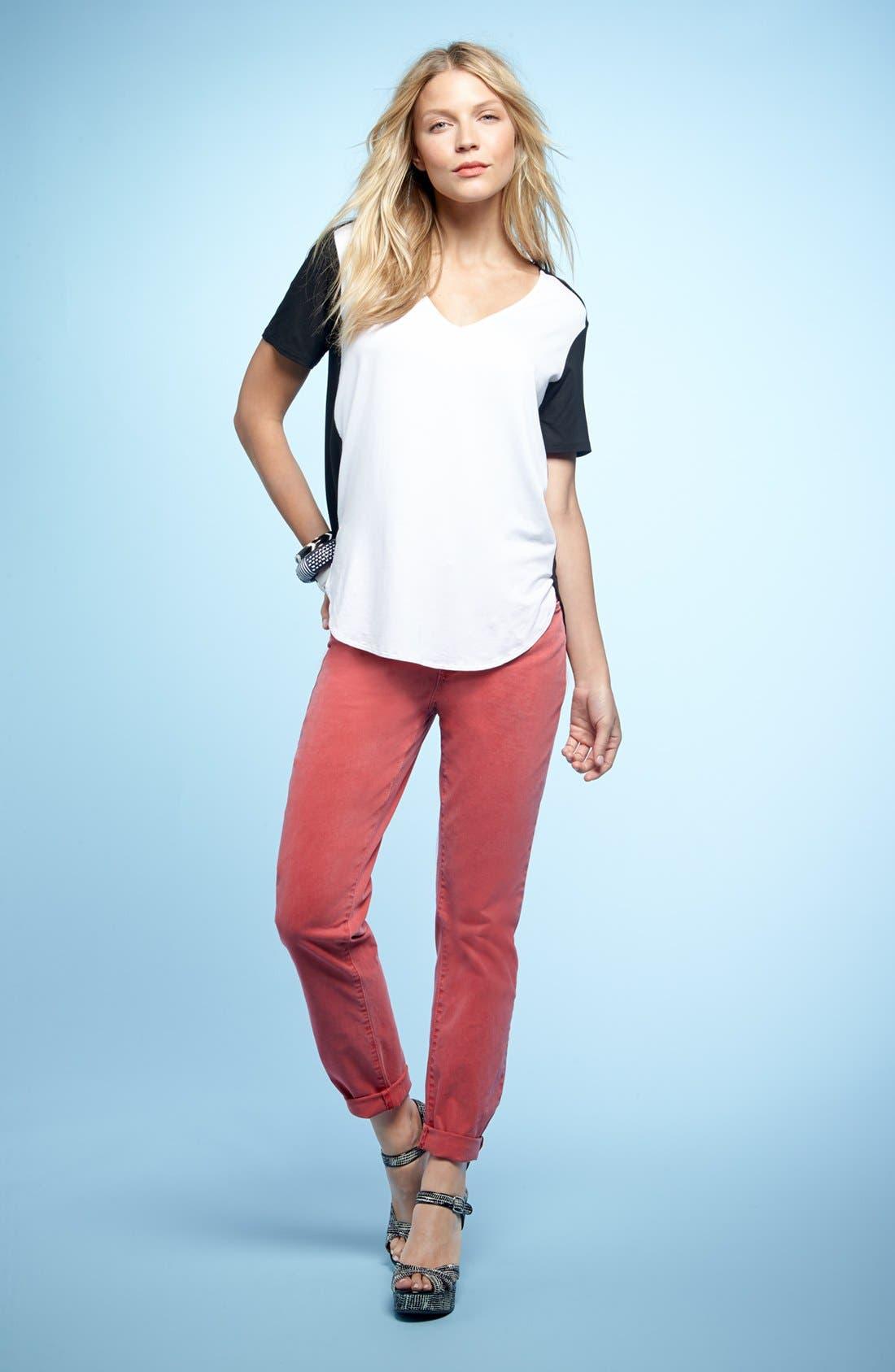 Alternate Image 5  - NYDJ 'Alisha' Skinny Stretch Ankle Jeans