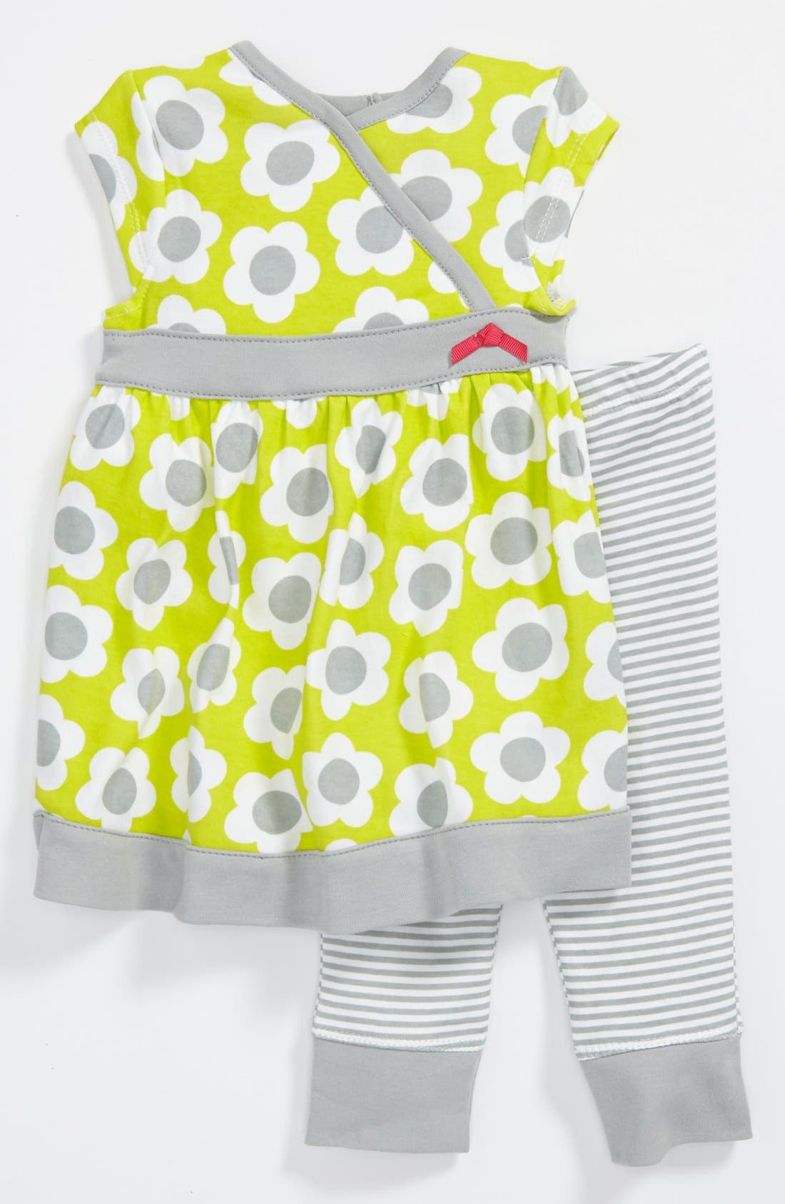 Alternate Image 1 Selected - Offspring Dress & Leggings (Baby Girls)