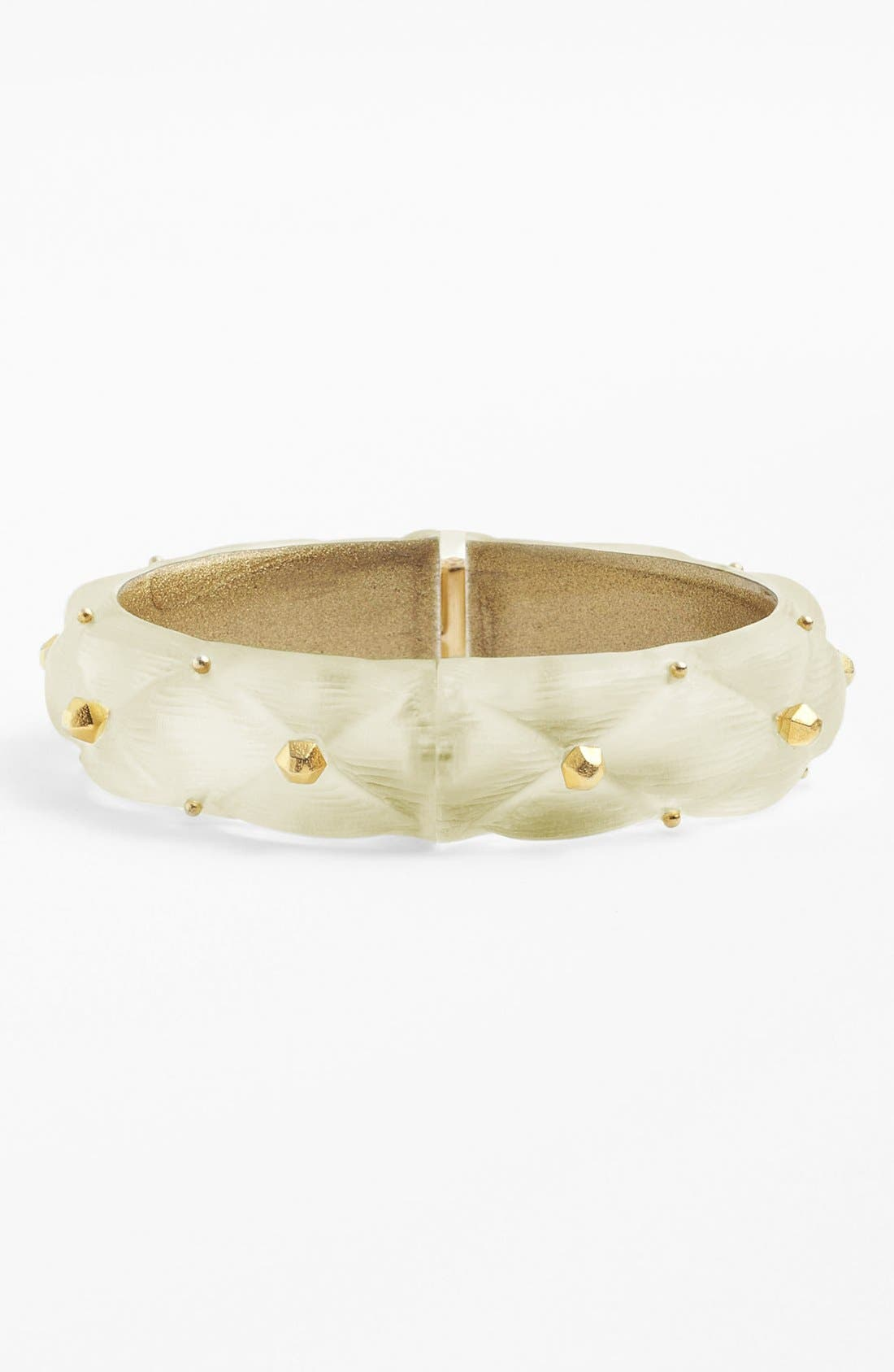 Main Image - Alexis Bittar 'Lucite®' Small Quilted Bracelet