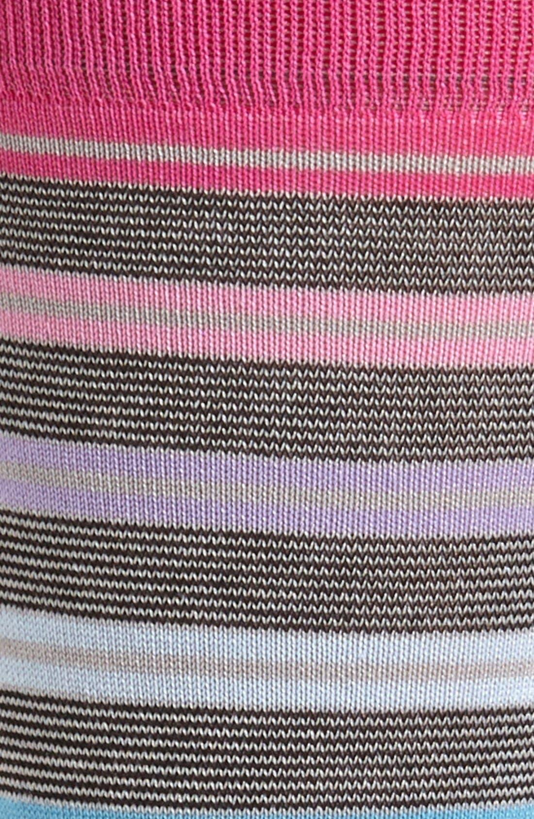 Alternate Image 2  - BUGATCHI Multi Stripe Socks