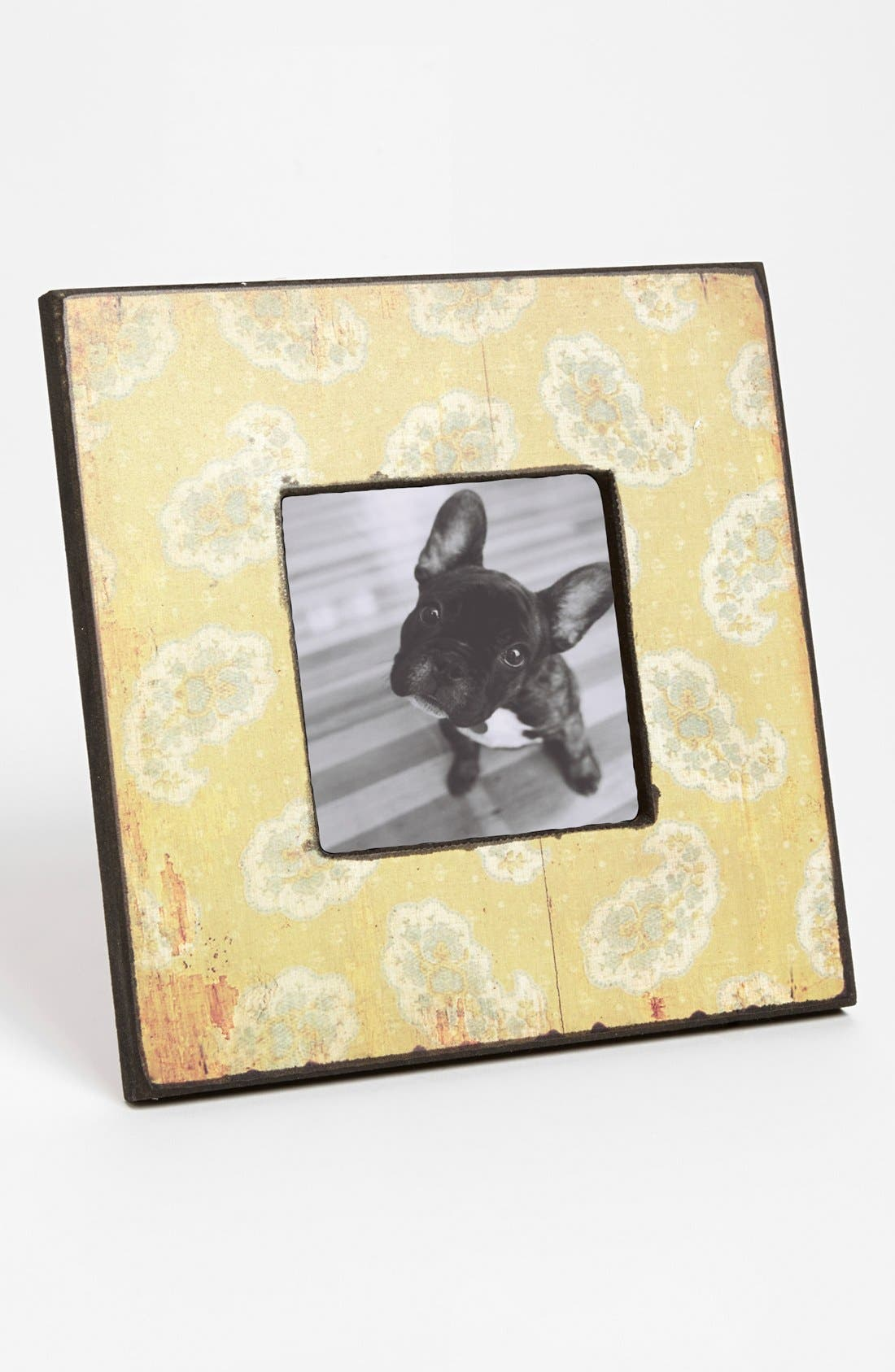 Alternate Image 1 Selected - Antiqued Paisley Picture Frame (4x4)