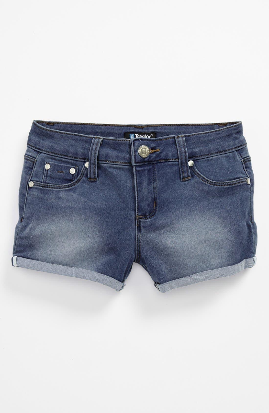 Main Image - Tractr 'Roll Up' Shorts (Big Girls)