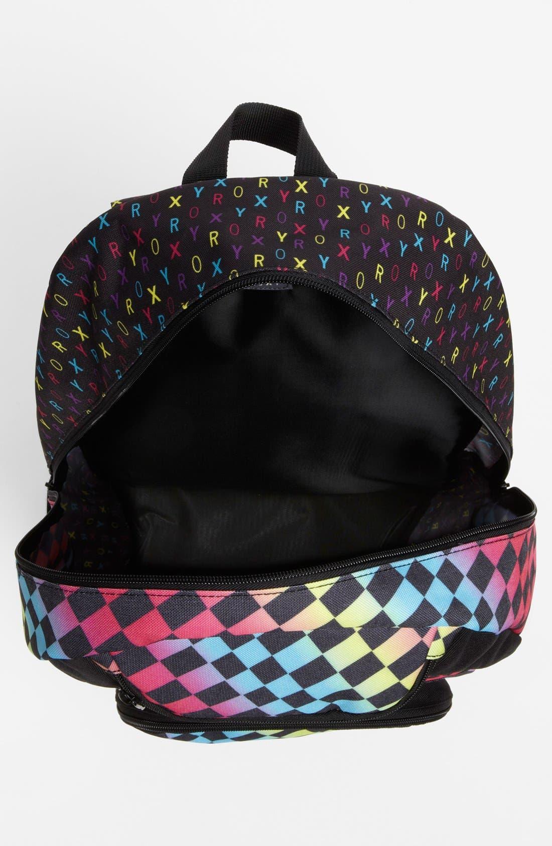Alternate Image 3  - Roxy 'Shadow View' Backpack (Girls)