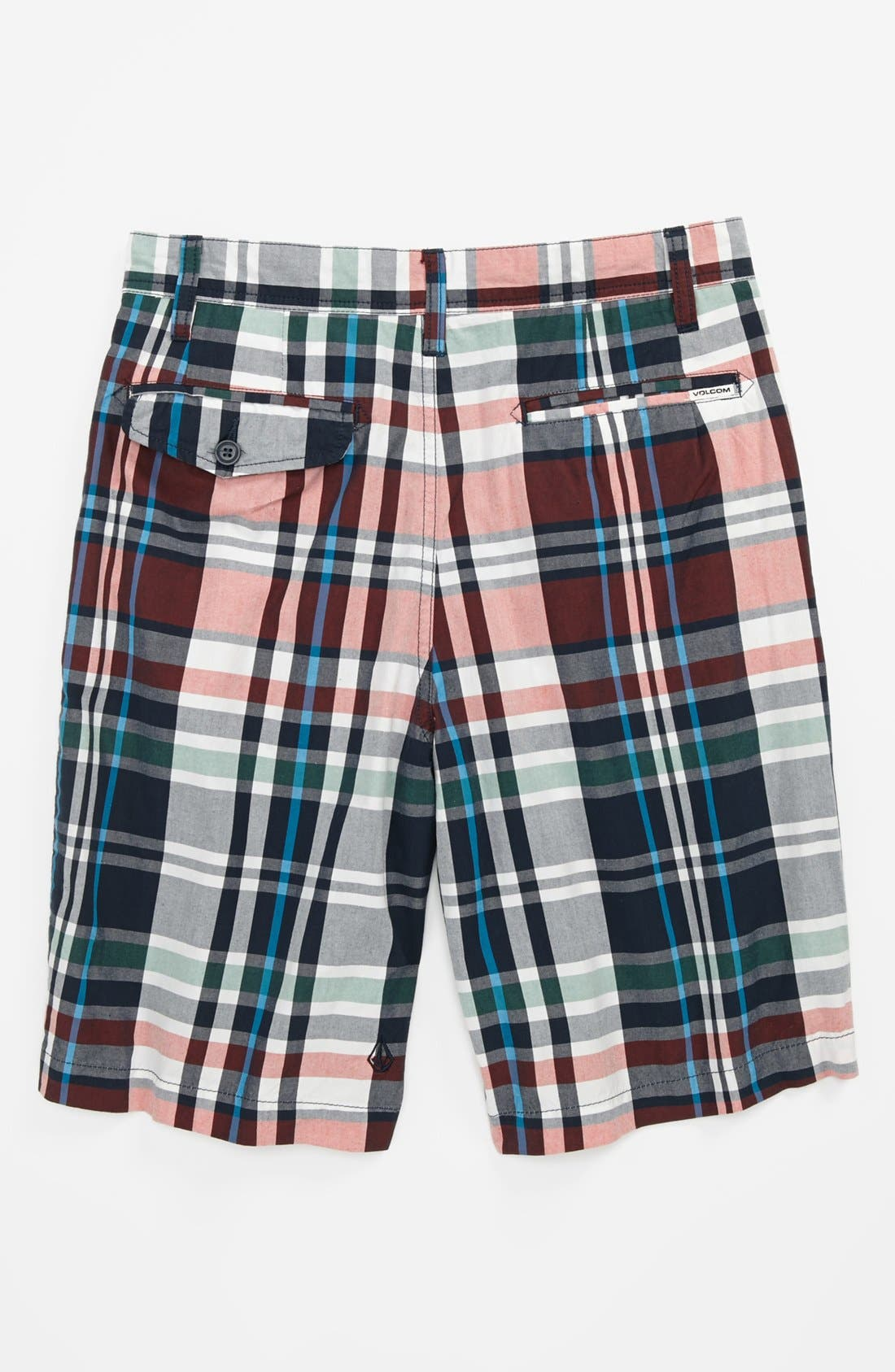 Alternate Image 2  - Volcom 'Adit' Plaid Shorts (Little Boys & Big Boys)