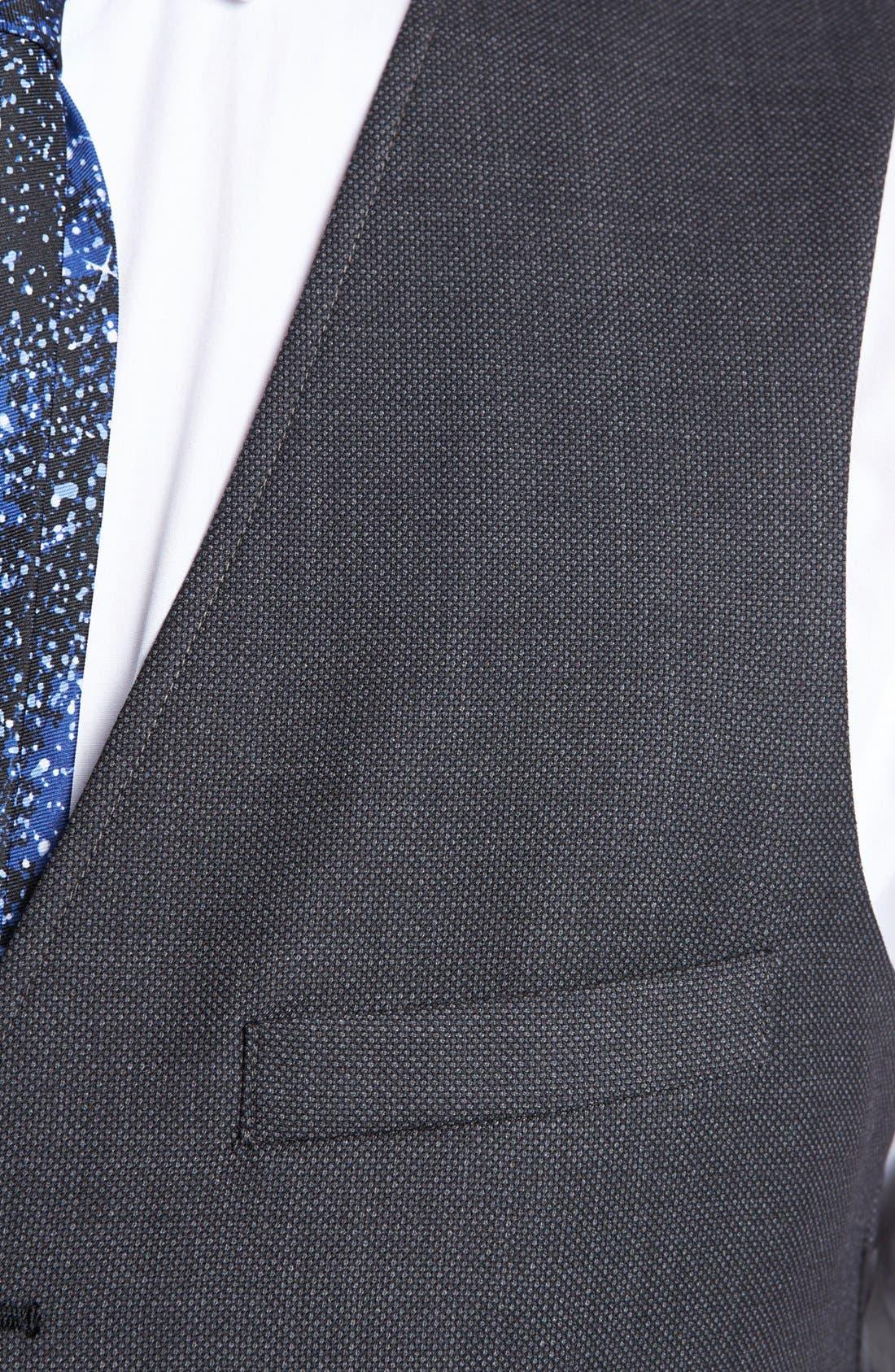 Alternate Image 3  - Topman Slim Fit Vest