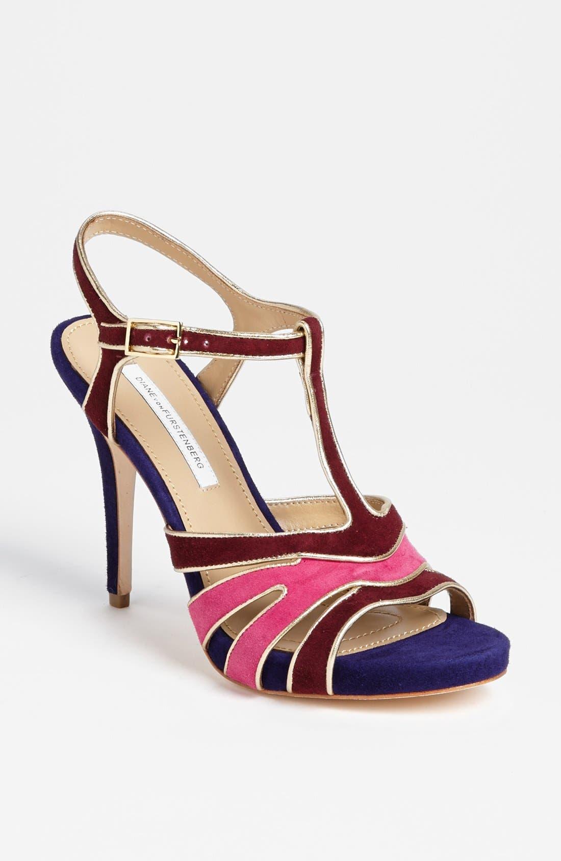 Alternate Image 1 Selected - Diane von Furstenberg 'Julip' Sandal (Online Only)
