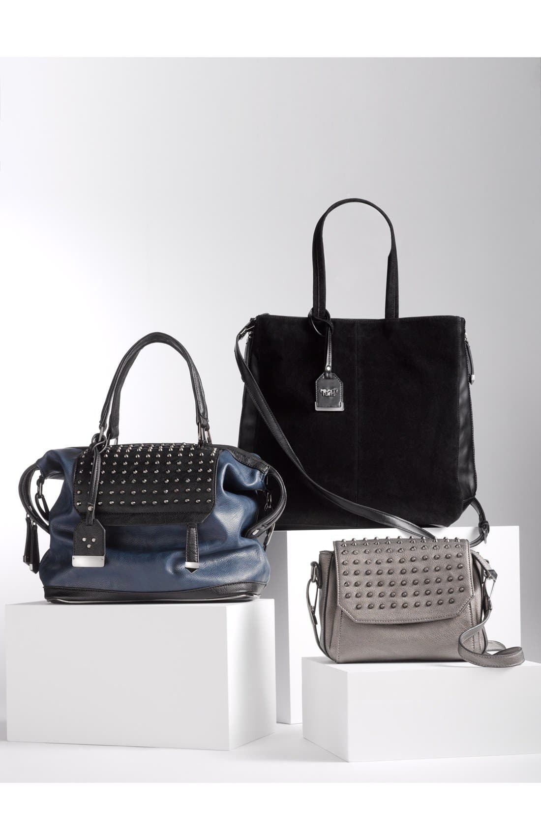 Alternate Image 5  - POVERTY FLATS by rian Studded Satchel, Large