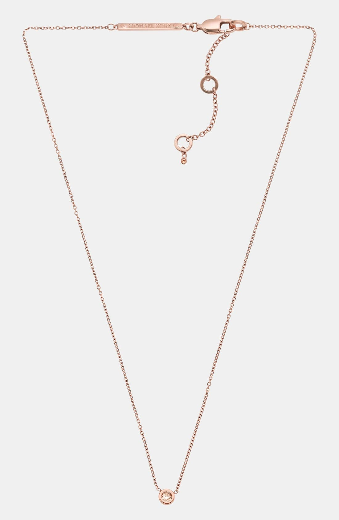 Alternate Image 2  - Michael Kors 'Botanicals' Pendant Necklace