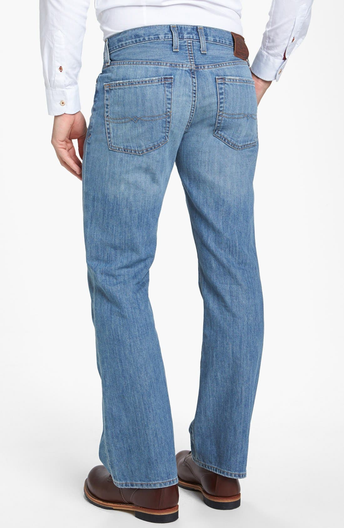 Alternate Image 2  - Lucky Brand '367 Vintage' Bootcut Jeans (Chambers)