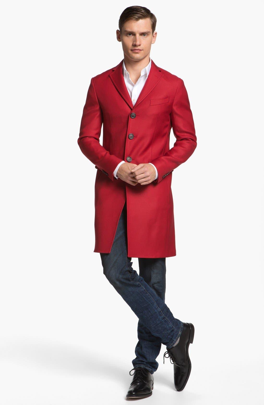 Alternate Image 4  - Dsquared2 Three Button Overcoat