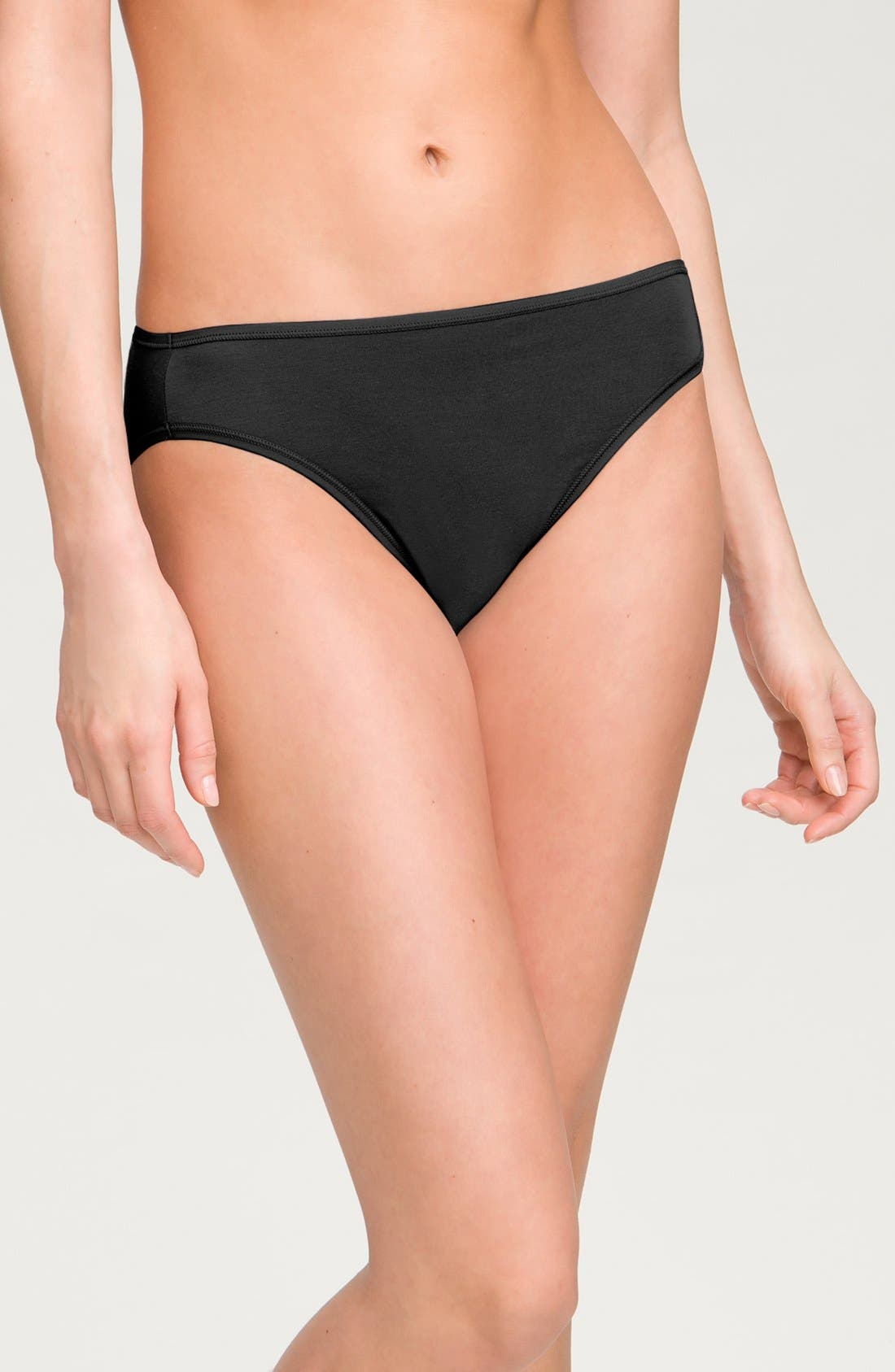 Main Image - Shimera 'Comfort' Stretch Cotton High Cut Briefs