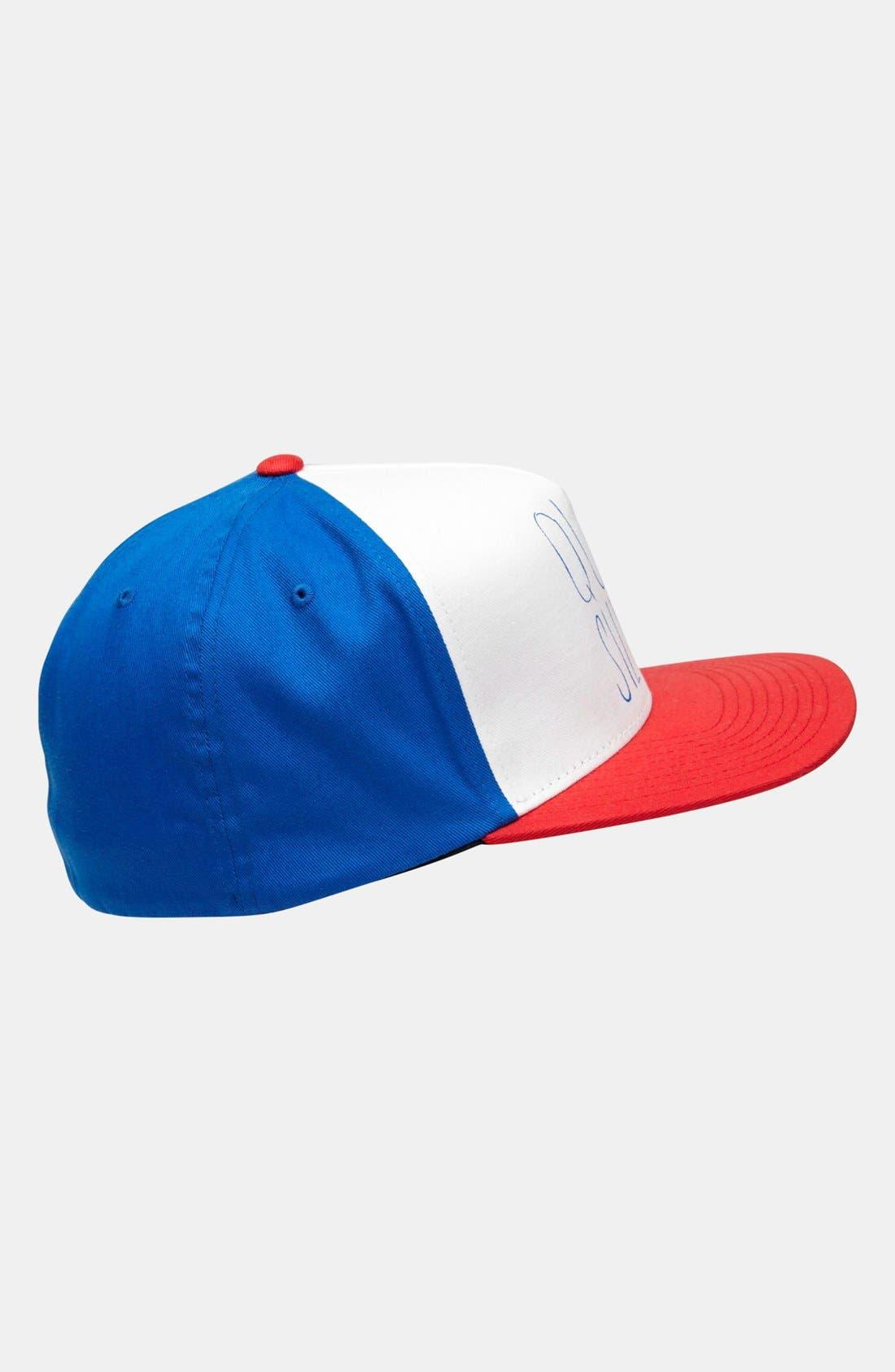 Alternate Image 3  - Quiksilver 'Mixed' Baseball Cap (Toddler)