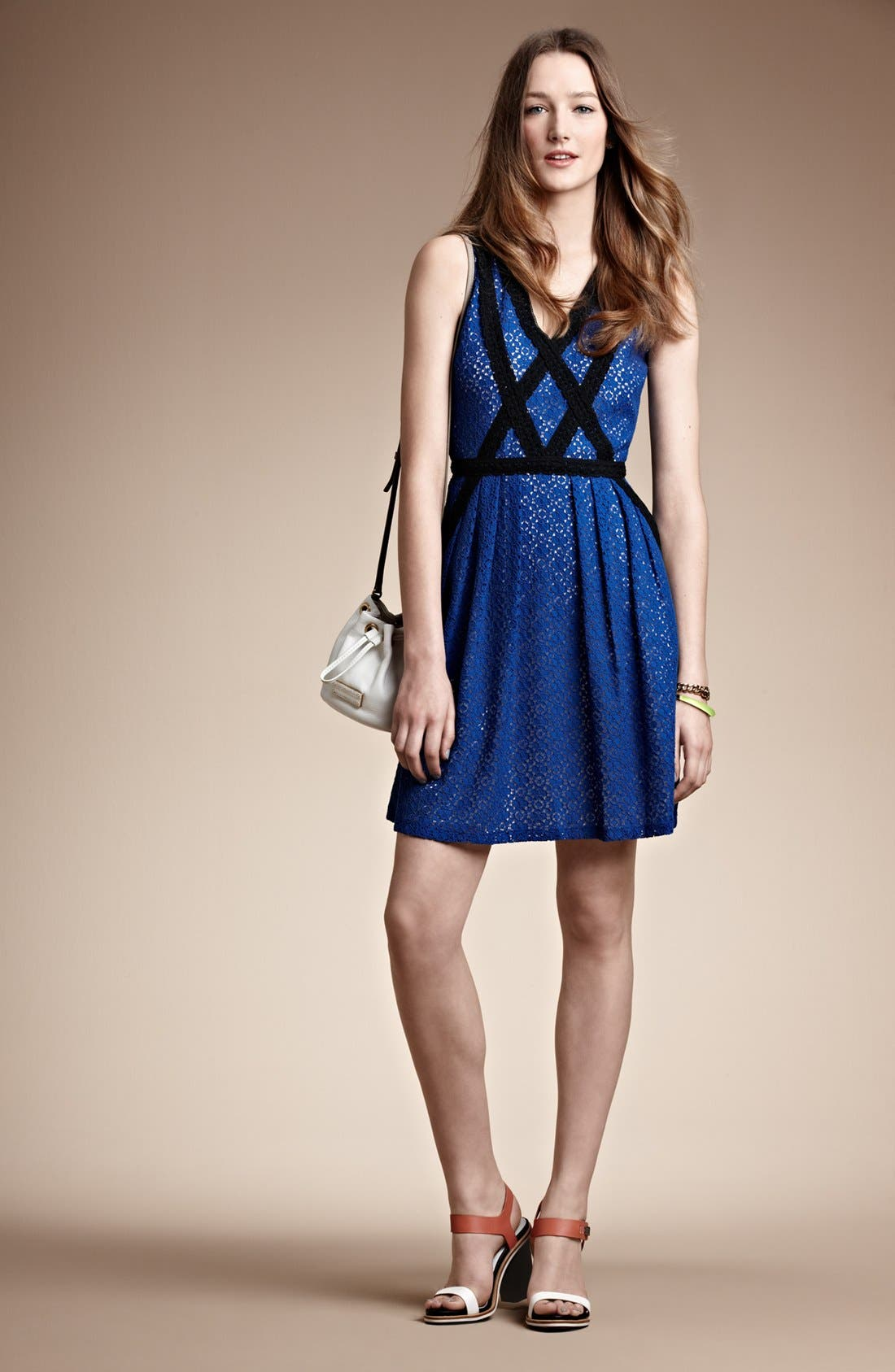 Alternate Image 4  - MARC BY MARC JACOBS 'Collage' Lace Fit & Flare Dress