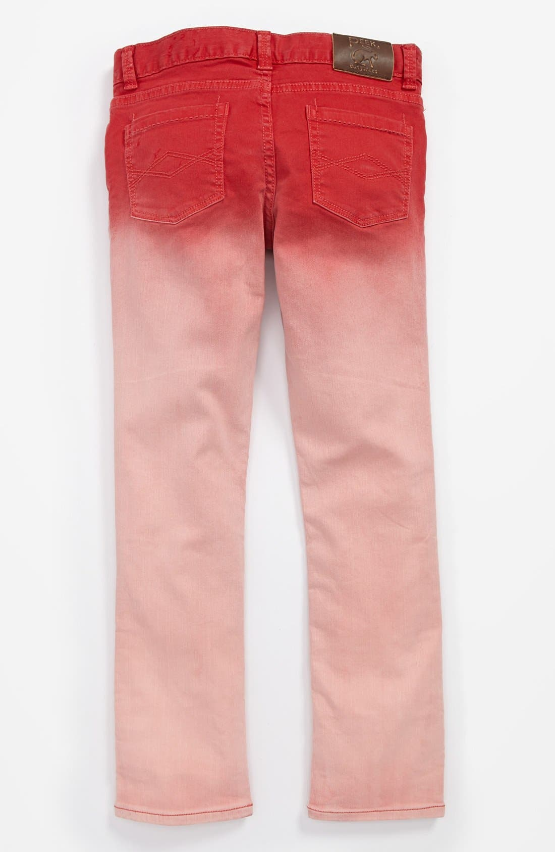 Alternate Image 1 Selected - Peek 'Dylan' Jeans (Toddler Girls, Little Girls & Big Girls)