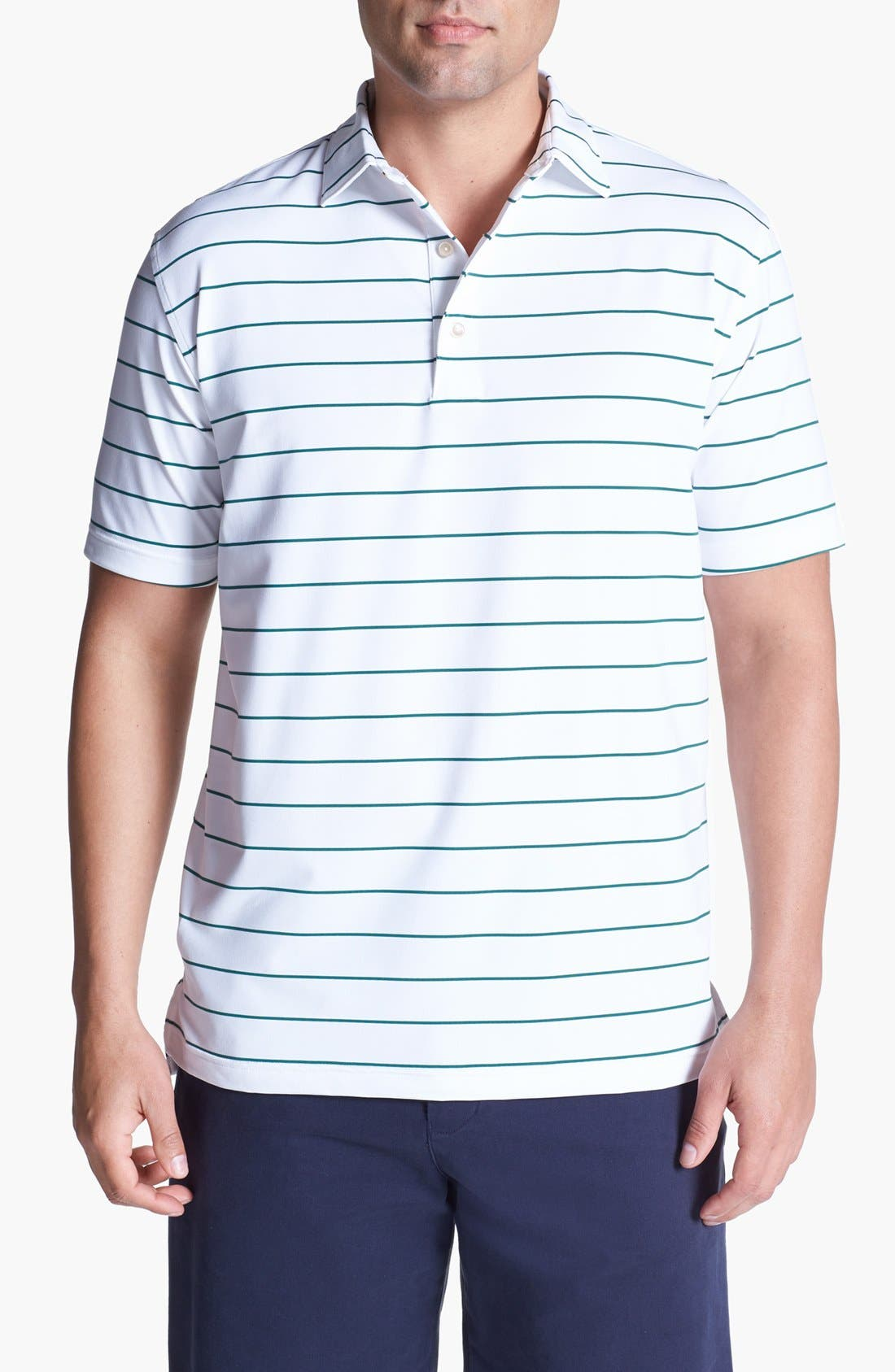Alternate Image 1 Selected - Peter Millar Moisture Wicking Polo