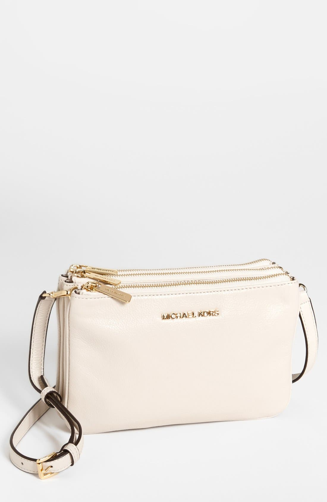 Alternate Image 1 Selected - MICHAEL Michael Kors 'Bedford' Crossbody Bag