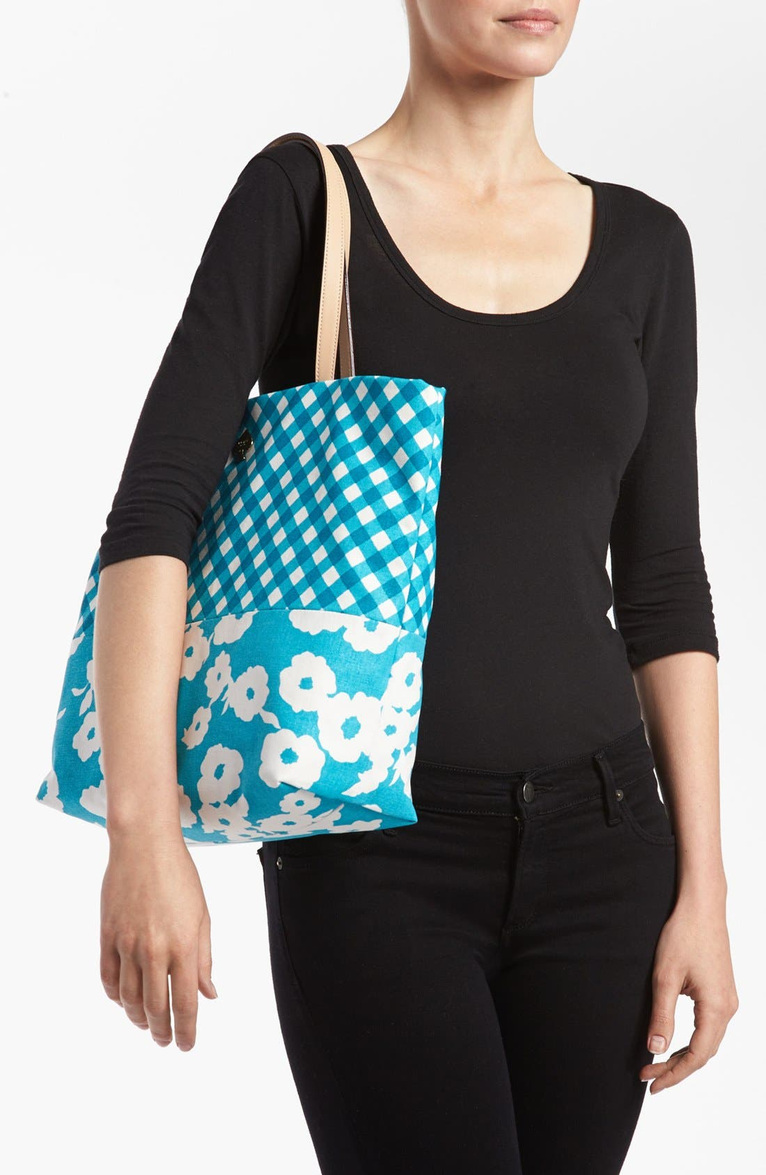 Alternate Image 2  - kate spade new york 'day tripper' canvas bon shopper
